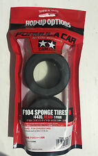 Tamiya 54168 F104 Sponge Tires B (4435, Rear) (1 Pair) NIP
