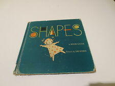 Shapes by Miriam Schlein pictures Sam Berman vintage 1952  E.M. Hale & Co.