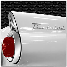 Ford THUNDERBIRD FIN SILVER FOIL 12x12 Scrapbooking Paper 2 FOR 99 CENT SALE!