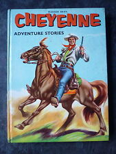CHEYENNE ADVENTURE STORIES WESTERN ANNUAL PUBLISHED 1960 UNCLIPPED EXC