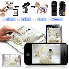 WIFI IP Wireless Spy Cam Remote Surveillance DV Security Micro Camera Deft