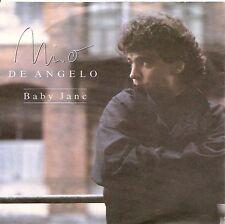 """7"""" Nino de Angelo Baby Jane/au pays des loups 80`s éoliennes Music"""