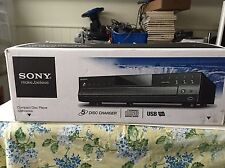 SONY CDP-CE500 5-Disc CD Changer In Box USB