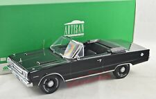 NEW 1/18 Greenlight 19007 Plymouth Belvedere GTX, 1967, nero