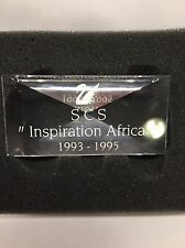 GENUINE SWAROVSKI PLAQUE FOR 1993-1995 TRILOGY - INSPIRATION AFRICA BNIB RARE