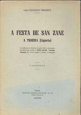 Ferraironi: A festa de San Zane a Triora in Liguria 1940