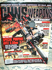 GUNS & WEAPONS 10/2007~RUGER MOA MINI-14~DPMS MARK 12~H&K P2000 LEM~CMMG 14.5~