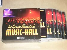 BOITIER 5 CD / LES GRANDS MOMENTS DU MUSIC HALL / READER'S DIGEST / TR B ETAT