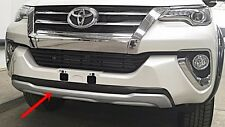 ABS PLASTIC FRONT BUMPER GUARD FOR TOYOTA NEW FORTUNER 2016