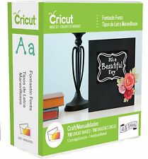 Fontastic Fonts Cricut Cartridge - Brand New & Sealed