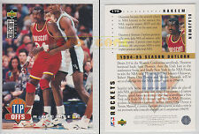 NBA UPPER DECK 1994 COLLECTOR'S CHOICE - Hakeem Olajuwon #175 - Ita/Eng - MINT