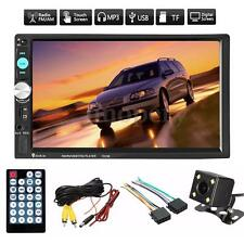 ITLIANO 7'' Autoradio Touch Screen 2Din AM FM MP5 Bluetooth USB +Telecamera Auto