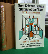 Best Science Fiction Stories of the Year: 5th Annual Collection (hb, 1977)
