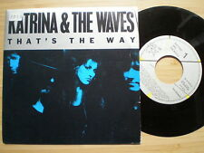 KATRINA AND THE WAVES  That's The Way SPAIN 45 1989 NM