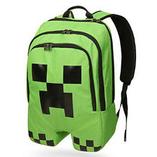 Minecraft Creeper Backpack Rucksack Boys Schoolbag Sports Mine Craft Bags
