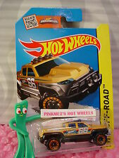 Case L/M 2015 i Hot Wheels OFF-DUTY truck #116∞mustard Yellow; 66∞Off-Road