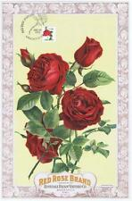 Original 1890's Red Rose CA raisin with 8/20/1993 FDC 2490 Lancaster PA