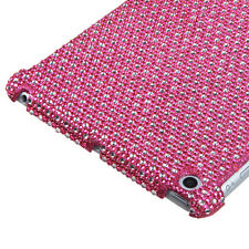 Apple iPad Mini - BLING RHINESTONE HARD PROTECTOR SKIN CASE COVER PINK DIAMOND