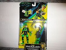 KENNER BATMAN FOREVER THE RIDDLER WITH BLASTING QUESTION MARK BAZOOKA