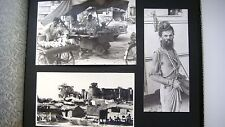 1960s Russian USSR Real Photo Album of SOVIET SPECIALISTS IN INDIA 66 Images