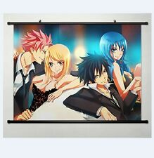 Fairy Tail Natsu Dragnir Home Decor Anime Japanese Poster Wall Scroll  Whole 161