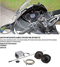 CAN-AM SPYDER ST ST-S 2013 & UP INTEGRATED AUDIO SYSTEM #219400349 #219400521