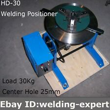HD-30 Rotary Welding Positioner TurnTable Tube Welder Welding Lathe Chuck WP 200
