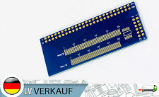 FPC 0,5 0,7 0,8 1,0mm Kabel nach DIP 2,56mm Adapter für Prototyping TFT LCD LCM