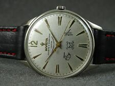 OLD INVICTA SWISS WATCH REFINISHED CUARVO Y SOBRINOS MASONIC DIAL