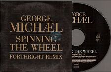 GEORGE MICHAEL spinning the wheel CD PROMO france french card sleeve