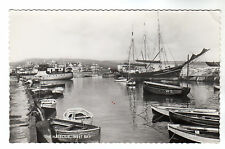 The Harbour - West Bay Real Photo Postcard c1950s / Bridport