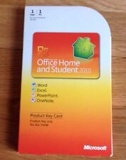 Microsoft Office Home And Student 2010 Product Key Card Genuine