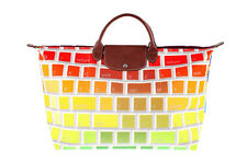 Longchamp Jeremy Scott Keyboard le pliage travel bag tote clavier multi
