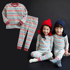 "Vaenait Baby Toddler Kid Boy Girls Clothes Sleepwear Pyjama ""Rainbow"" L(4-5T)"