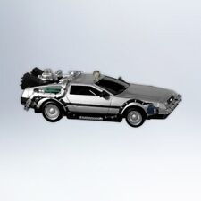 2012 Hallmark OUTATIME DeLorean BACK TO THE FUTURE Time Machine Ornament