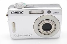 SONY CYBER-SHOT DSC-S500  6.0 MP 3X Digital Camera SILVER