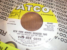 The Bee Gees 45 New York Mining Diaster 1941 ATCO SEALED