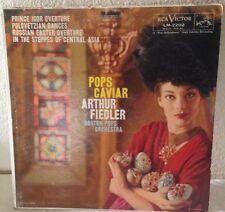 Pop Caviar Arthur Fiedler Boston Pops Orchestra Vinyl LP