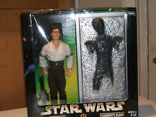 "Star Wars HAN SOLO & CARBONITE BLOCK 12"" Action Figure Boxed Set"