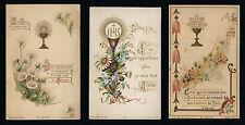 lotto santini-holy cards lot-lot images pieuses-konvolut heiligenbildichen n.451