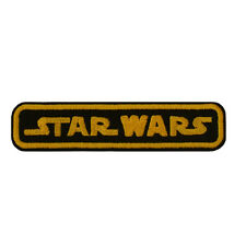 Embroidered Star Wars Logo Emblem Iron & Sew On Patch Size Medium