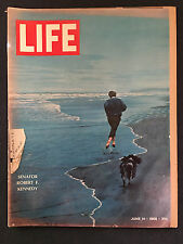 LIFE MAGAZINE JUNE 14 1968 ROBERT KENNEDY ASSASSINATION WAR AND PEACE TINY TIM