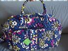 Vera Bradley African Violet Weekender Travel Bag--new--$98 retail #12479-165