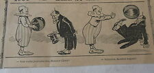 Humour Le clown qui voulait jouer avec un ballon Image Print 1906