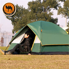 3-4 Person 4Season Thicken Oxford Outdoor Camping Hiking Tent Free Shipping