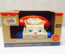 Fisher Price Classics Chatter Telephone ** Pull Along Phone**Vintage Style* NEW