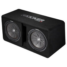 Kicker Dual 12-Inch 2000W Loaded Subwoofer Enclosure, Refurbished | 43DCWR122