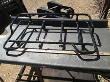 Vintage Aftermarket Black Steel Tube Rear Carrier Rack ?? Honda ATC200 ??