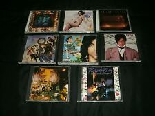Prince Eight CD Lot: Lovesexy, Diamonds And Pearls, For You, Purple Rain, More