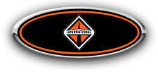 Ford F250-F350 1999-2004 International Custom Overlay Emblem Decals 3PC Kit WBO